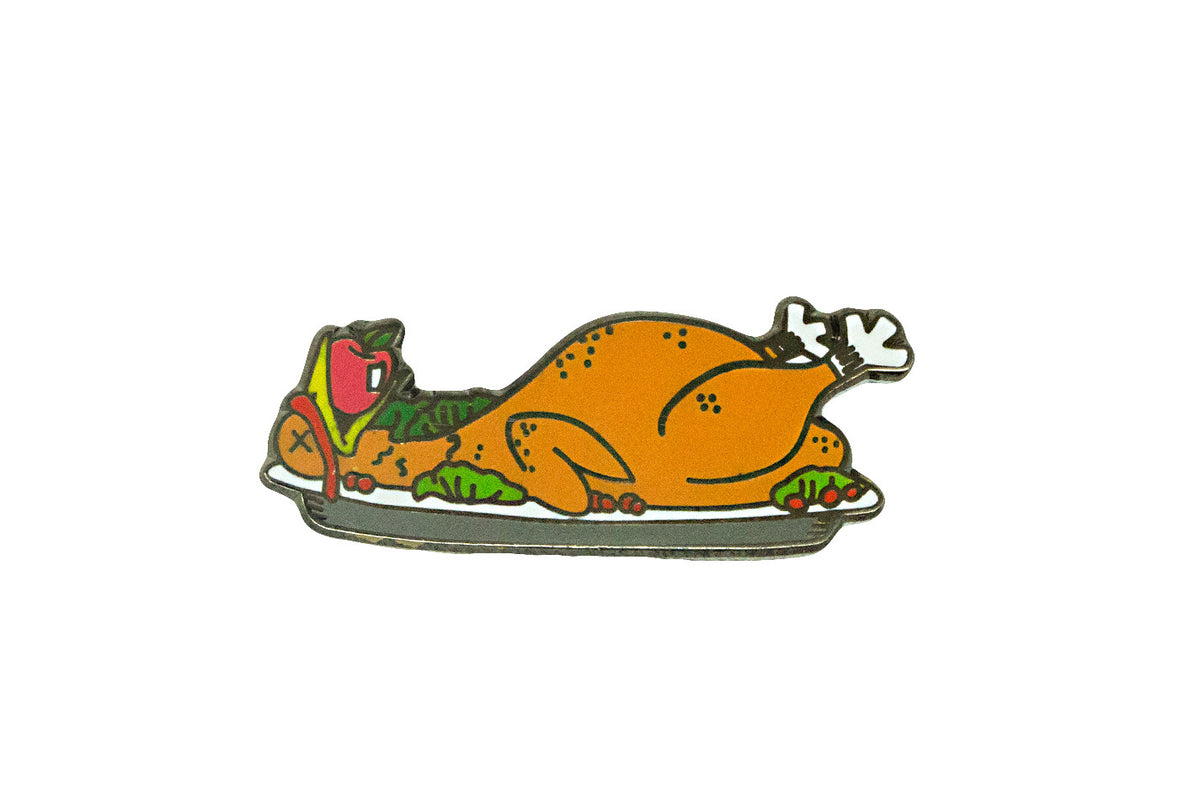 Turkey Dinner Pin