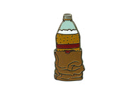 40oz Beer in a Bag Pin