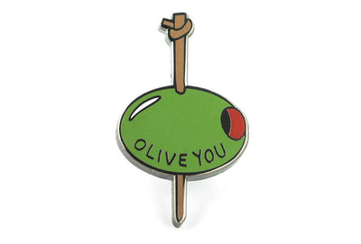 Olive You Pin