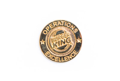 Vintage Burger King Pin 12