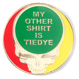 Sike-Adelic - My Other Shirt Tie-Dye Pin - Green
