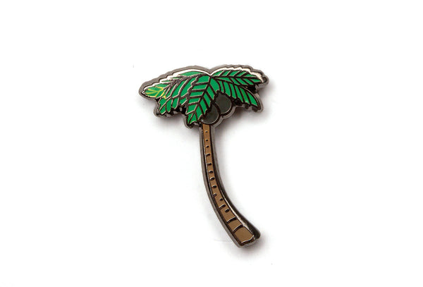 Tropical Palm Tree Pin