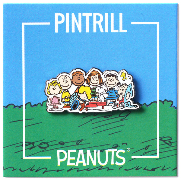 Peanuts - Group Pin