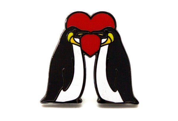 Penguin Love Pin