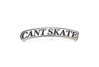 Cant Skate Arc Pin - White/Silver