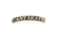 Cant Skate Arc Pin - Black/Gold