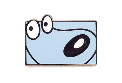 Blue Bean Pin