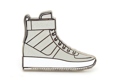 Military Sneaker Pin - Grey