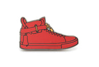 100mm Sneaker Pin - Red