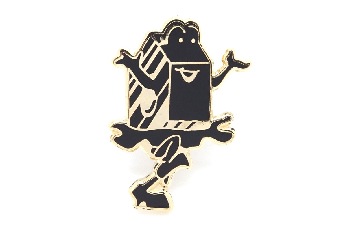 Cant Skate Milk Pin - Black/Gold