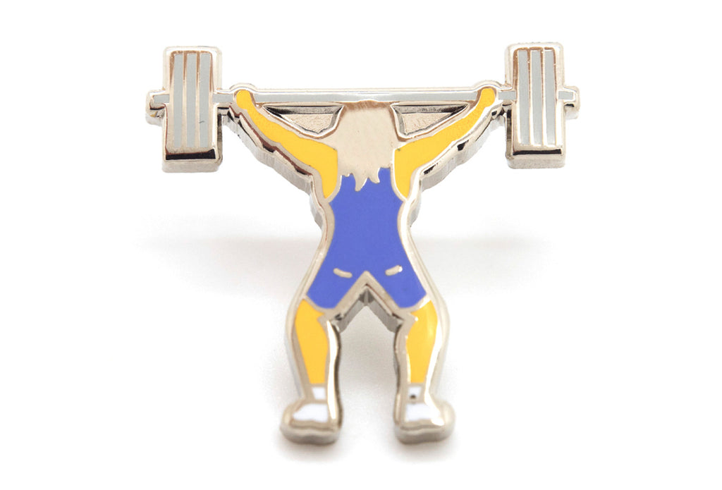 Weightlifter Pin