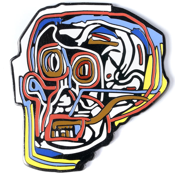 Jean-Michel Basquiat - Mask Pin