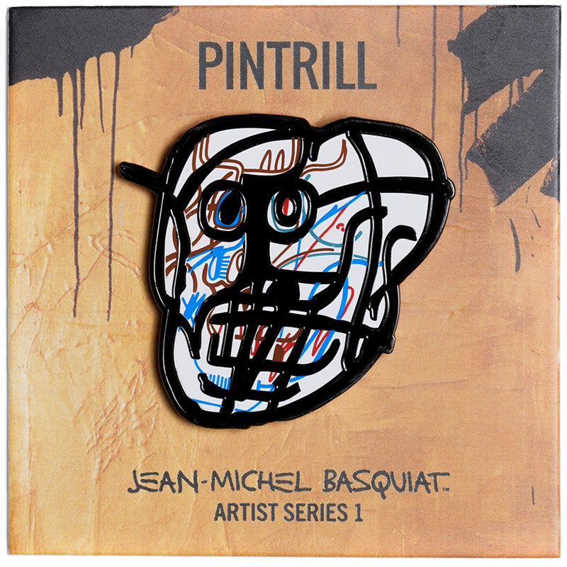 Jean-Michel Basquiat - Skull Pin