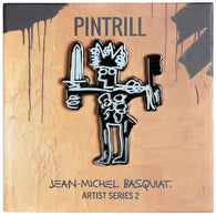 Jean-Michel Basquiat - Sword Pin
