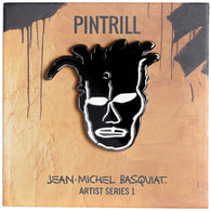 Jean-Michel Basquiat - Portrait Pin