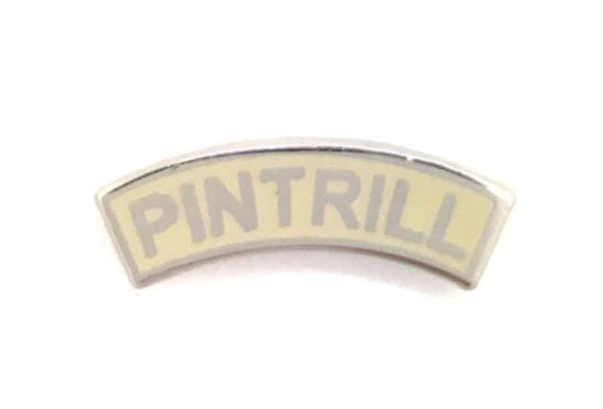 Leisure Life - PINTRILL Arc Logo Pin Cream