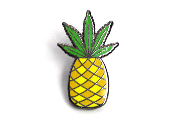 Pineapple Express - Leafy Pineapple Pin