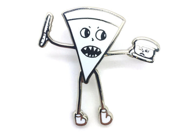 Pizza and Burger Pin