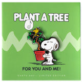 Peanuts - Plant a Tree Pin