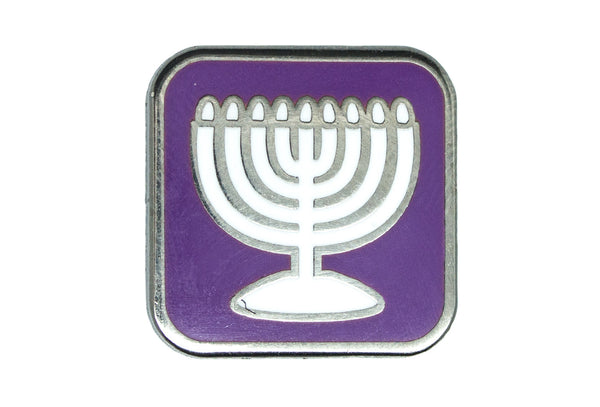 Menorah Pin