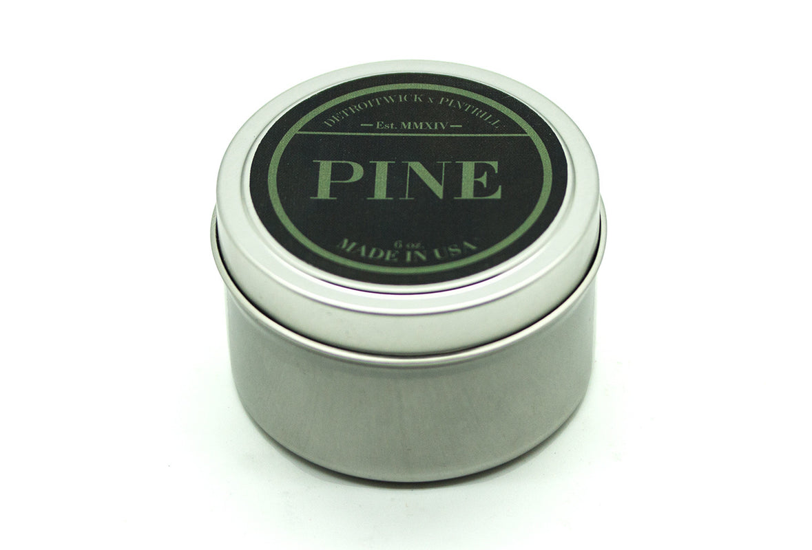 Pine Candle - DetroitWick x PINTRILL