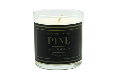 Premium Pine Candle - DetroitWick x PINTRILL