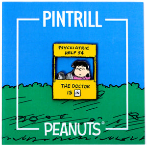 Peanuts - Lucy's Psychiatry Booth Pin