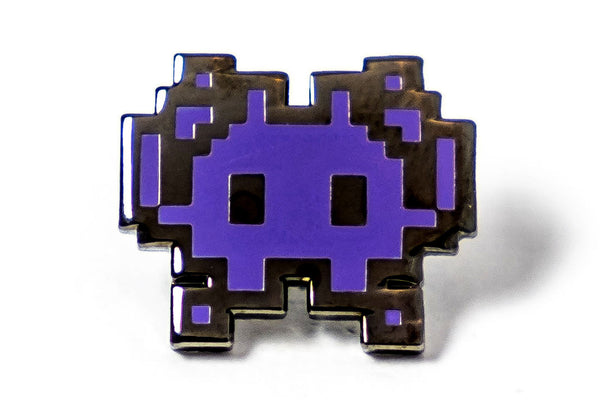 Invader Pin - Purple