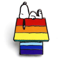 Peanuts - Snoopy Rainbow House Pin