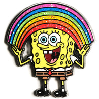 PREORDER SPONGEBOB SQUAREPANTS - Imaginaaation Bobble Pin