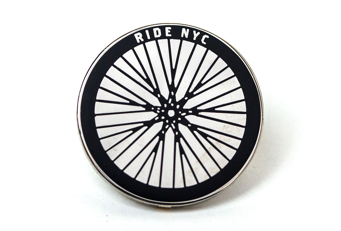Ride NYC Pin