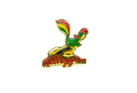 Vintage Corn Flakes Rooster Pin