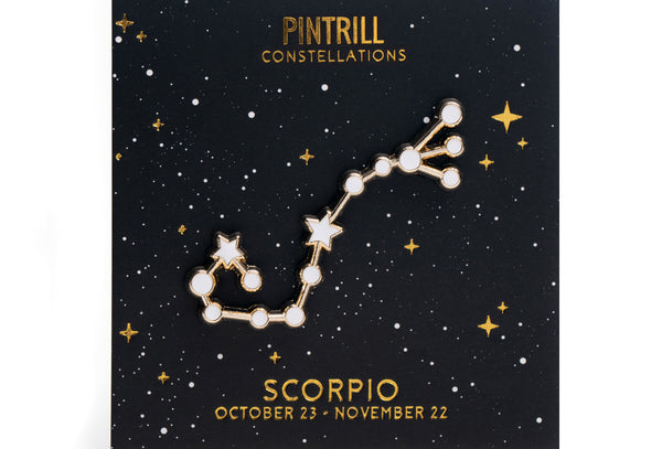 Constellations - Scorpio Pin