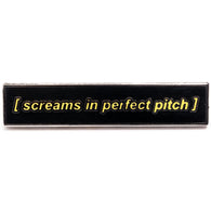 Pitch Perfect Scream Pin