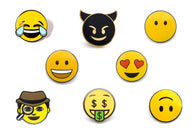 Smiley Faces Pin Pack 1