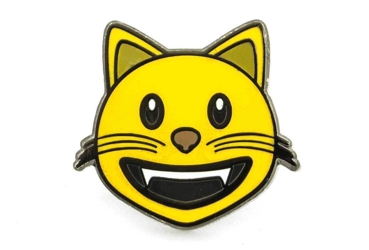 Smiling Cat Pin
