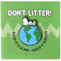 Peanuts - Keep It Clean Pin