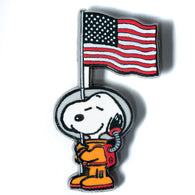 Peanuts - Astronaut Snoopy Flag Pin