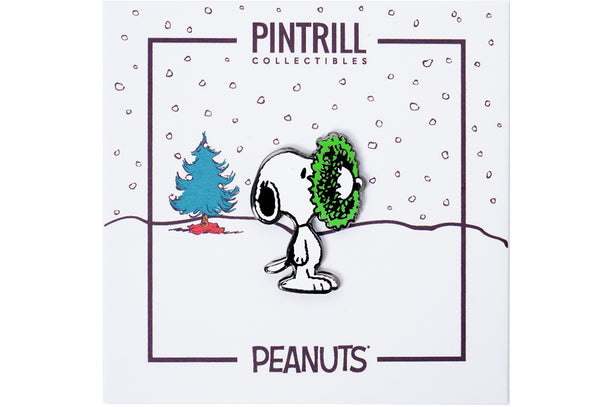 Peanuts - Snoopy Wreath Pin