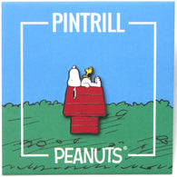 Peanuts - Snoopy and Woodstock House Pin