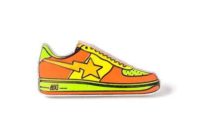 STA Sneaker Pin - Orange