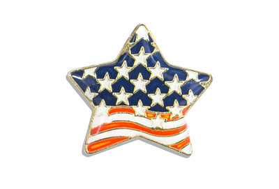 Vintage Stars & Stripes Pin 2