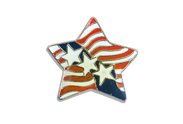 Vintage Stars & Stripes Pin