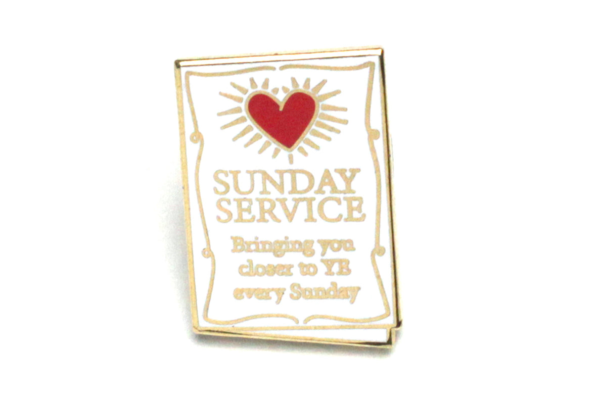 Sunday Service Pin