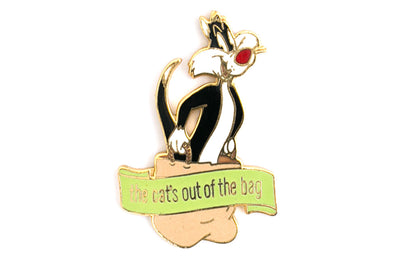 Vintage Sylvester The Cat 5 Pin