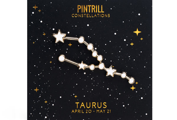 Constellations - Taurus Pin