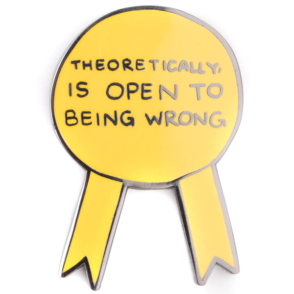 Awards For Good Boys - Theoretically is Open Pin