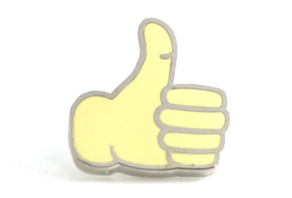 thumbs up pin pintrill