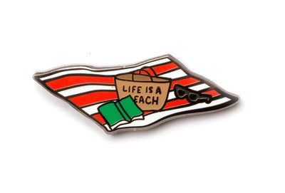 Life Is A Beach Pin