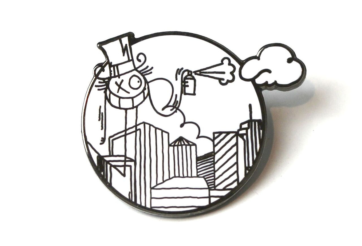 André Saraiva - Mr. A in New York City Pin